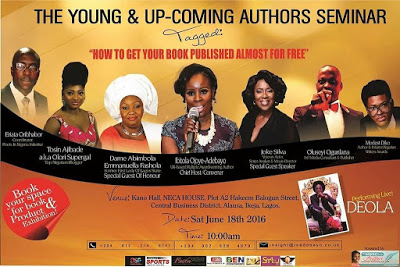 Olori Supergal, Joke Silva, Dame Abimbola E. Fashola and Many More to Attend The Young & Up-Coming Authors' Seminar