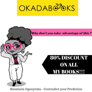 Sinmisola Ogunyika is Giving out up to 80% Discounts on all her Books on OkadaBooks