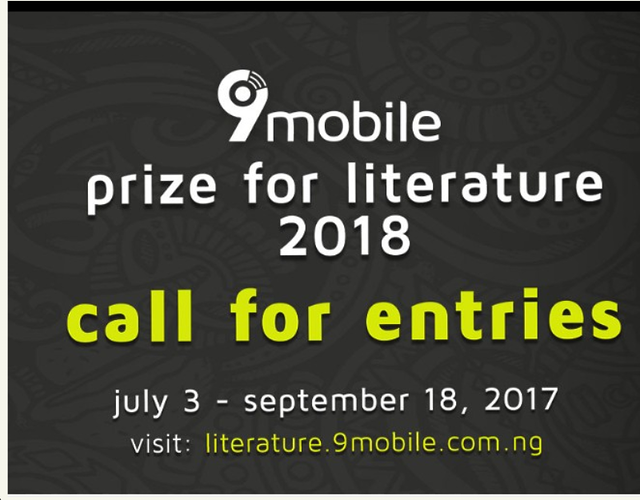 How to Apply For 9mobile Prize For Literature 2018