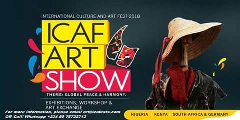 ICAF Art Show, 2018 to Hold in Lagos