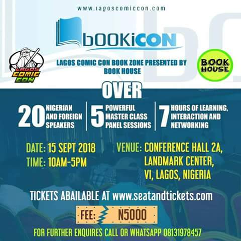 Register for the Lagos COMICON Book Zone 2018