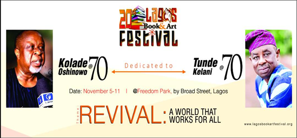 LAGOS BOOK AND ART FESTIVAL 2018 IS THEMED, RENEWAL: A WORLD THAT WORKS FOR ALL