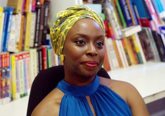 Author, Chimamanda Ngozi Adichie